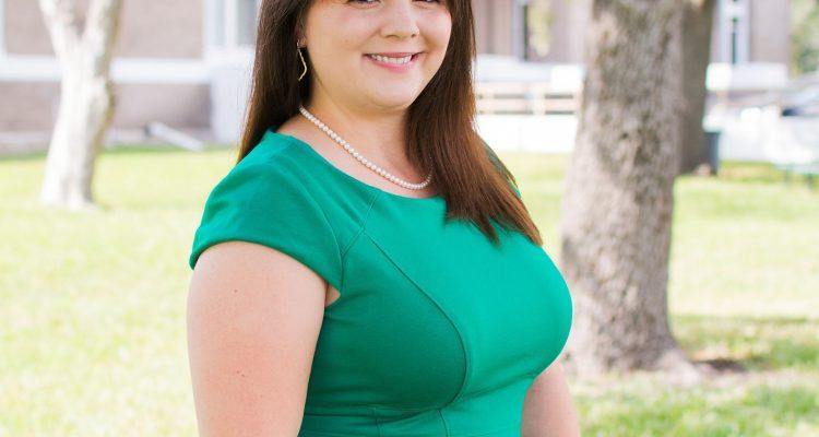 Aransas County Attorney Amanda Oster at the October 2021 Republican Club of Aransas County Meeting