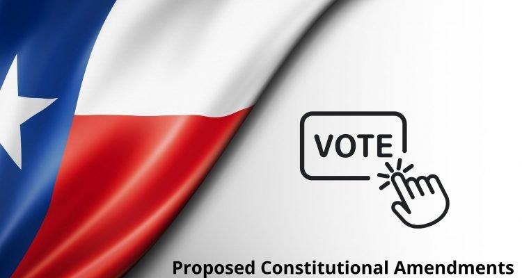 Texas Constitutional Amendment Election 2021